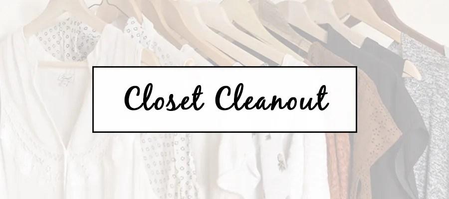 Closet Cleanout