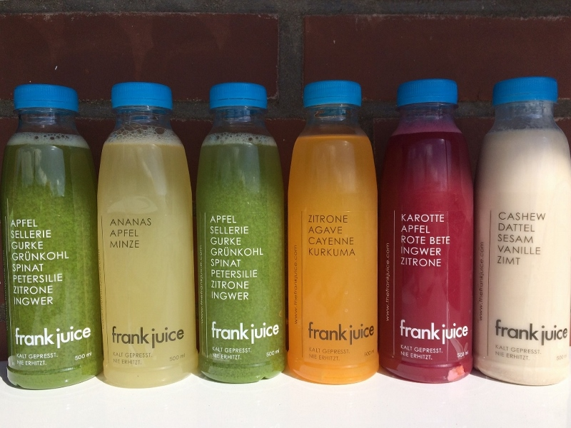 Juice Cleanse Frank Juice