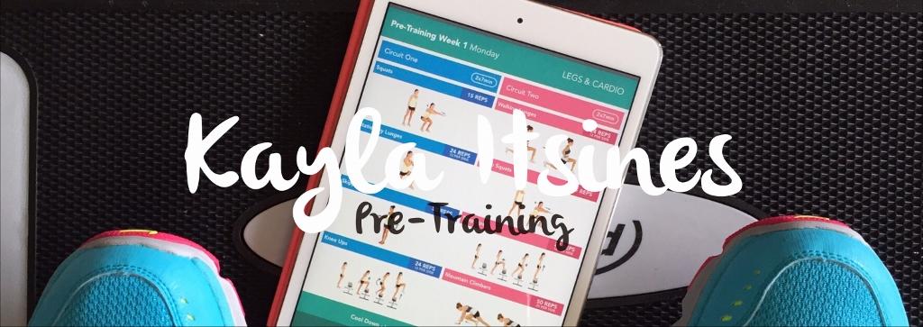 Vier Wochen Pre-Training mit Kayla Itsines