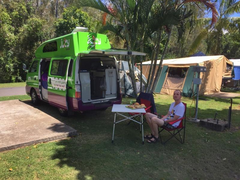 Reiseplanung - spontan und gemütlich mit Campervan