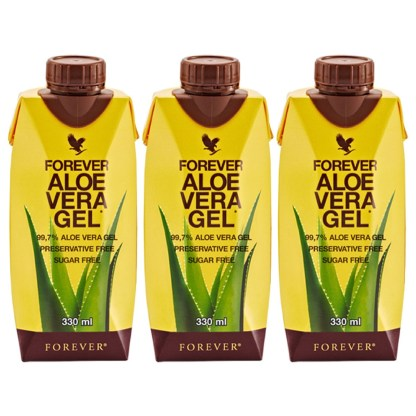 Forever Aloe Vera Gel Mini Tripack