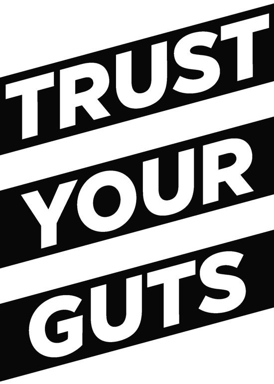 trustyourguts