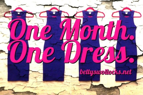 one month one dress
