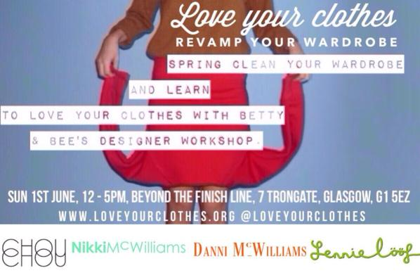 Love your clothes flyer