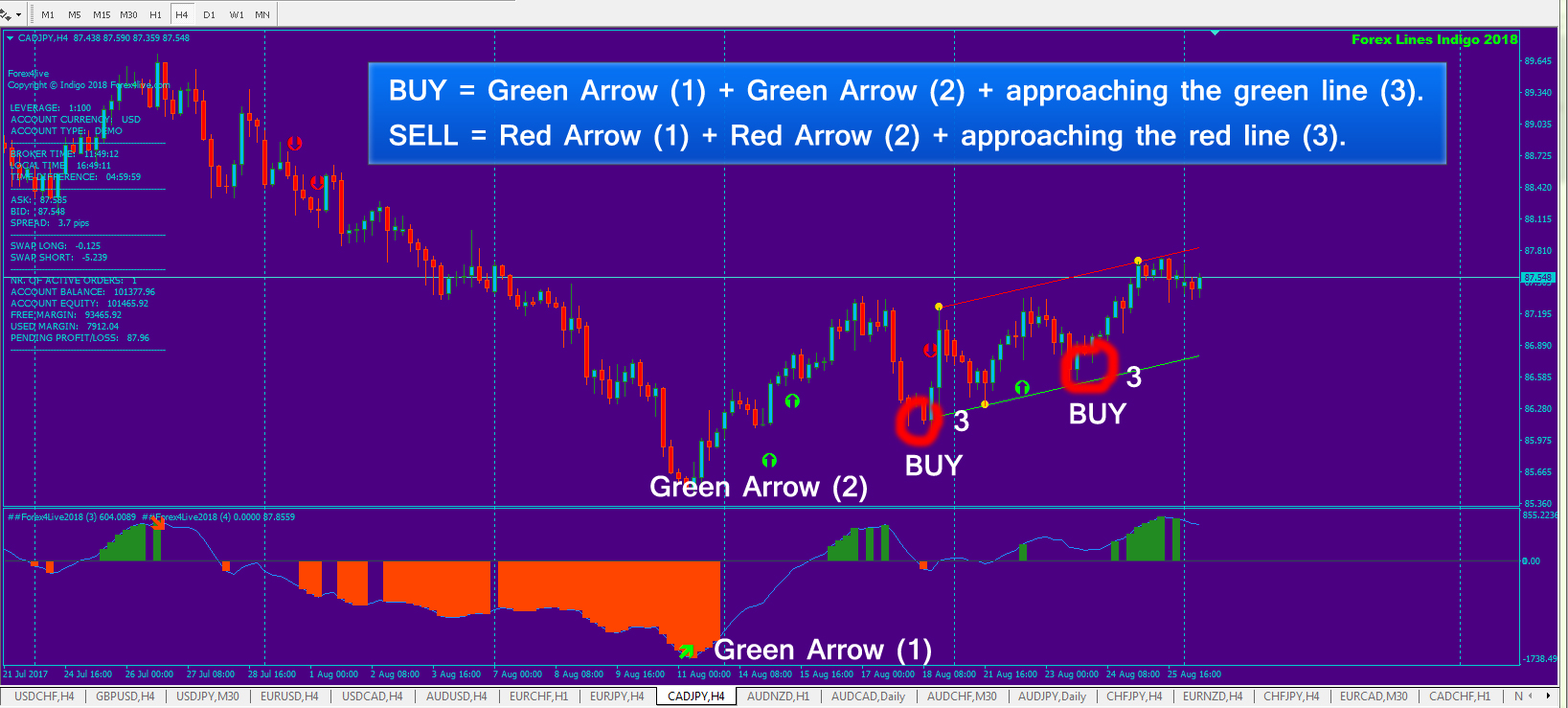 Forex indicator live strong buy