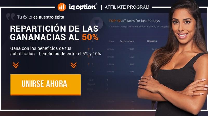 Afiliados IQ Option