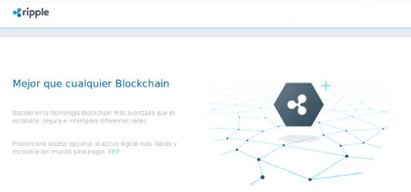 Blockchain de Ripple XRP