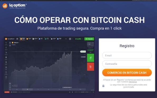 Operar con Bitcoin Cash