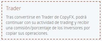 Trader Copy Trading
