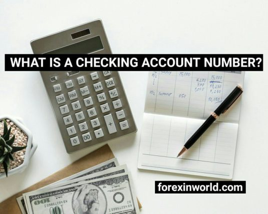 what is a checking account number