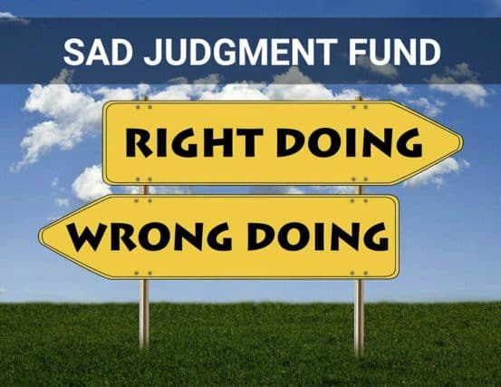 sad judgment fund