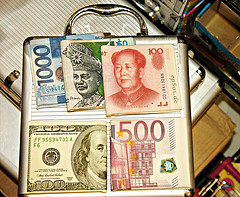 International Currency Money for Forex Trading