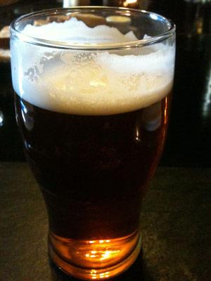 Pint of Adnams ale