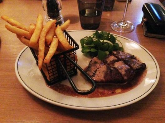 centennial hotel steak frites