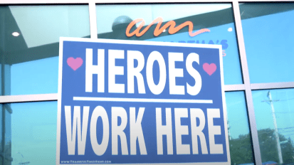 AUNT MARTHA'S – SUPPORTING THE HEROES WHO WORK HERE