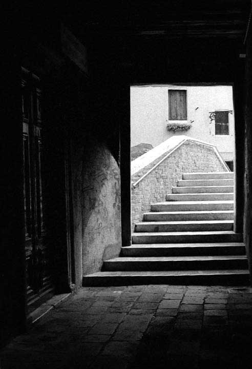 Stairs, Venice, 2012