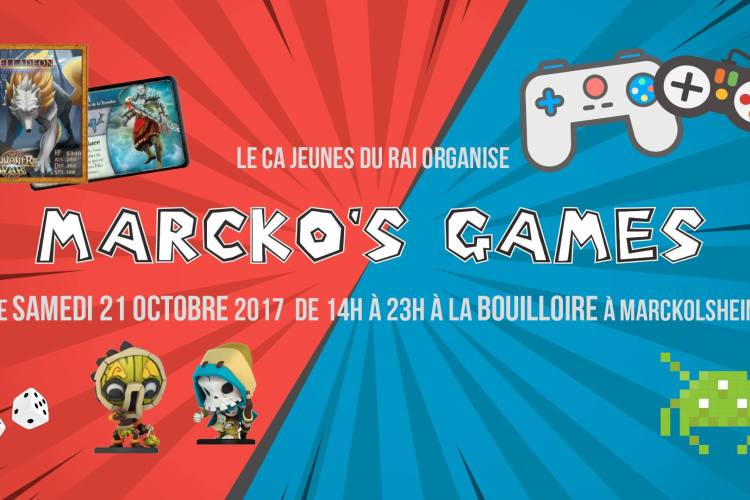 Affiche Marko's Games