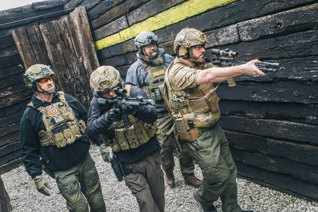Shoothouse training at Alliance with Forge Tactical