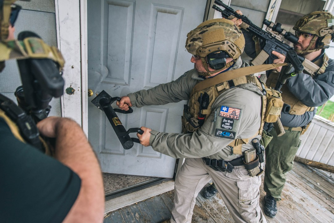 Breaching at Alliance with Forge Tactical