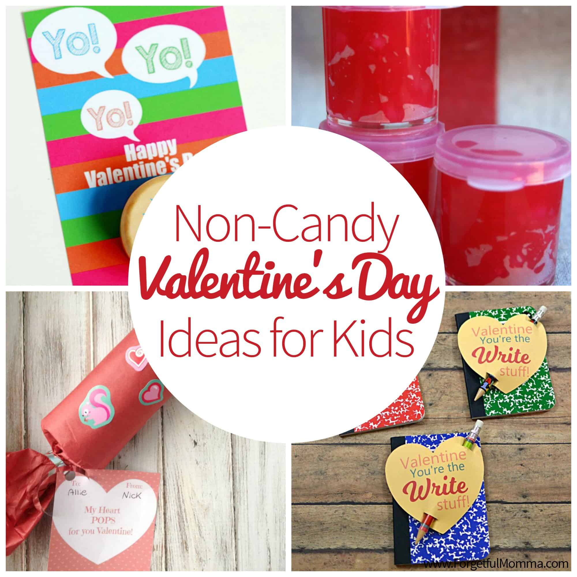 Non Candy Valentine S Ideas For Kids To Take To School