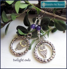 https://www.etsy.com/ca/listing/240481665/owl-charm-gemstone-earrings-her-bird?