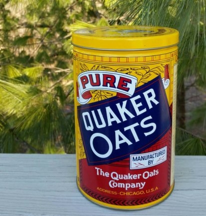 https://www.etsy.com/ca/listing/473174308/1992-quaker-oats-round-tin-rolled-white?