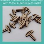 Honeycomb Pins for Glowforge