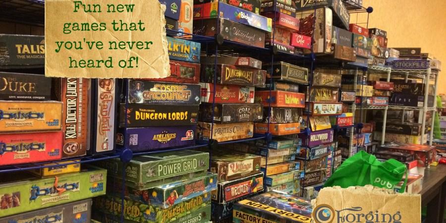 Board games galore!