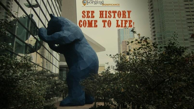 Famous Blue Denver Bear