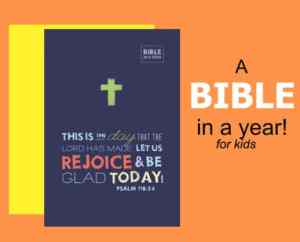 WIN a Bible in a Year for Kids!