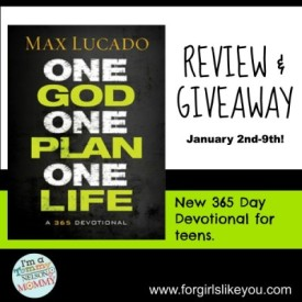 Max Lucado and Sheila Walsh Devotionals {Giveaway}