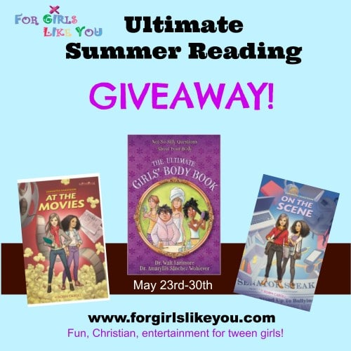Girls Summer Reading Giveaway For Girls Like You