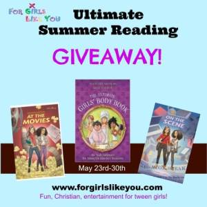 Girl's Summer Reading Giveaway!