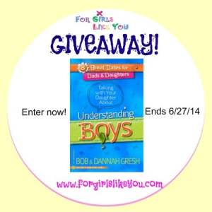 Talking with Your Daughter About Understanding Boys {GIVEAWAY!}