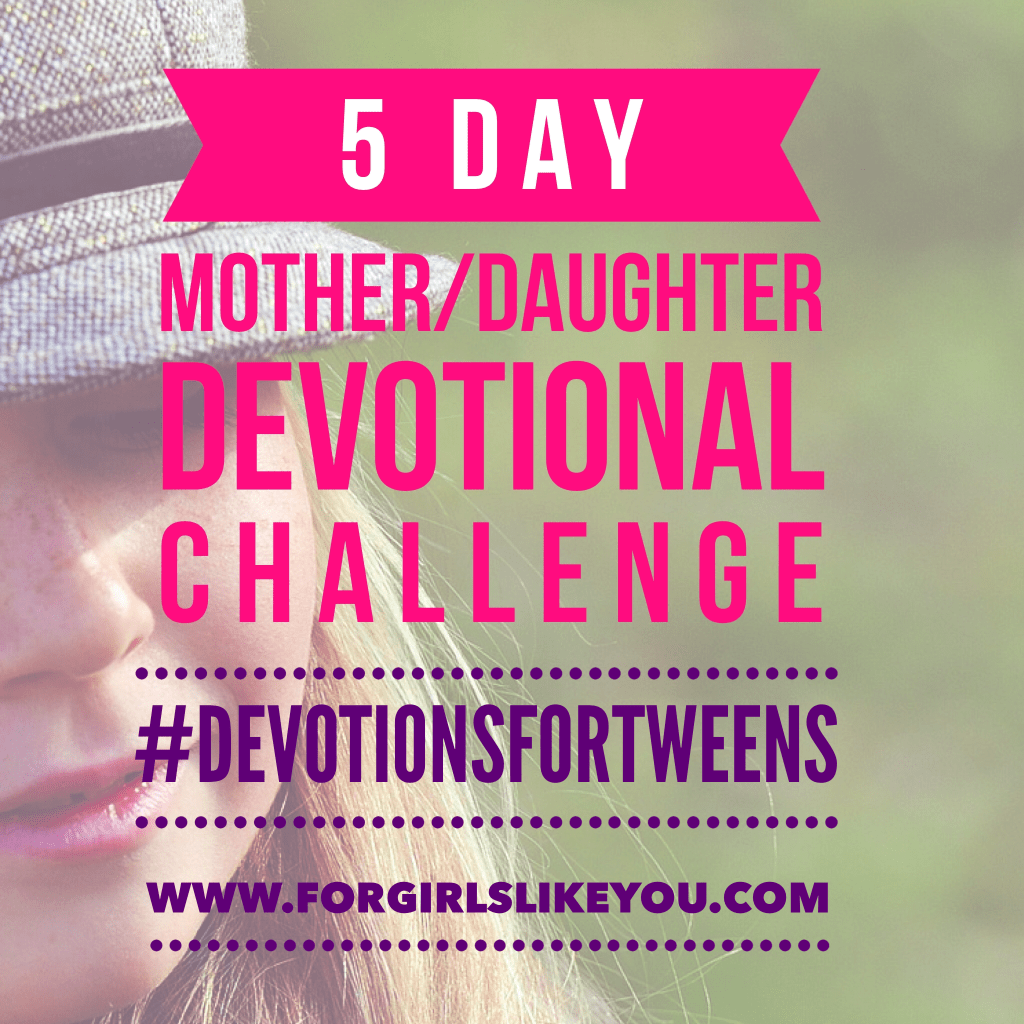 image about Printable Devotions for Tweens referred to as Absolutely free Mom/Daughter Devotions - For Women Which includes By yourself