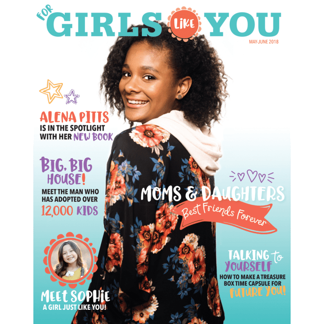 For Girls Like You Magazine May 2018 Cover