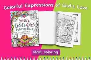 Celebrate You're God's Girl Coloring Book {Free Necklace and Download!)