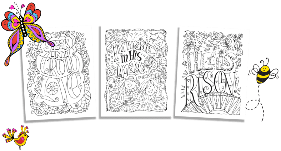 FGLY Coloring Pages and Illustrations