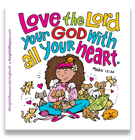 For Girls Like You Coloring Book