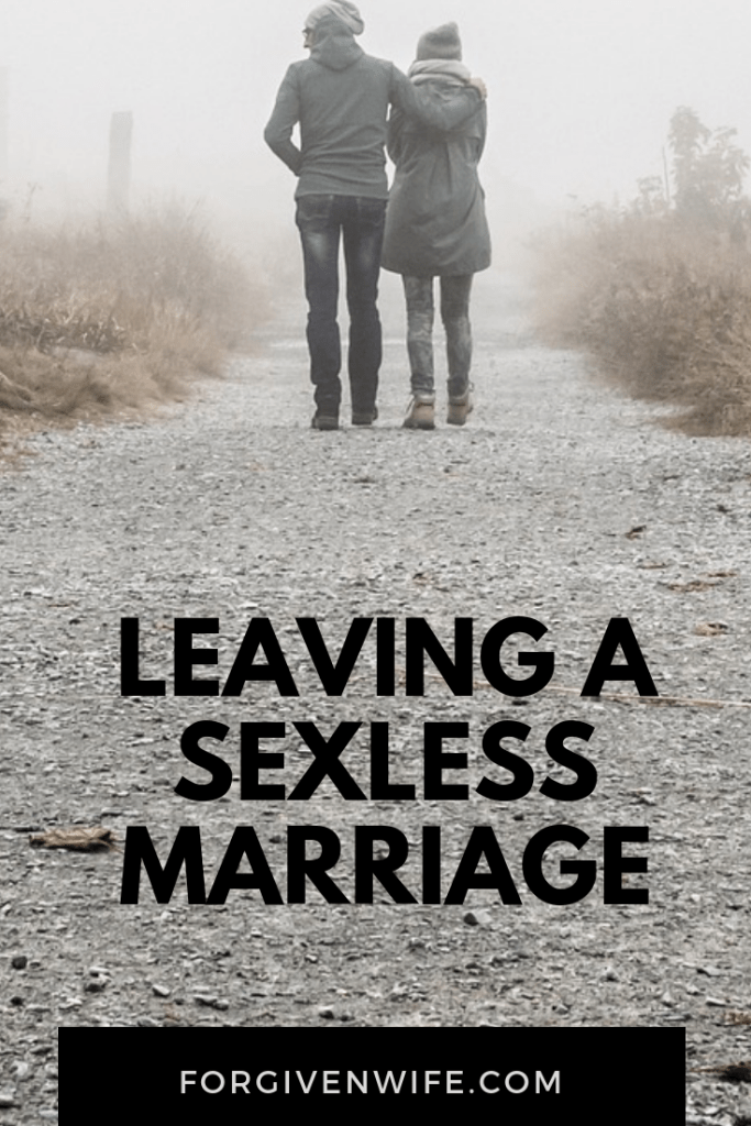 leaving a sexless relationship