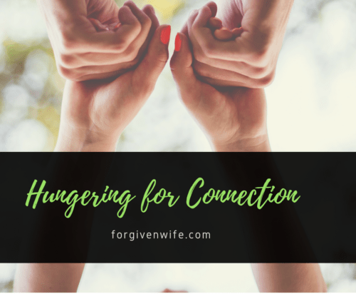 Do you crave connection with your husband?
