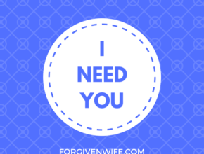 Can you and your husband seek comfort in each other?