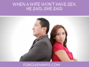 What persuaded you to begin to address sexual intimacy in your marriage?