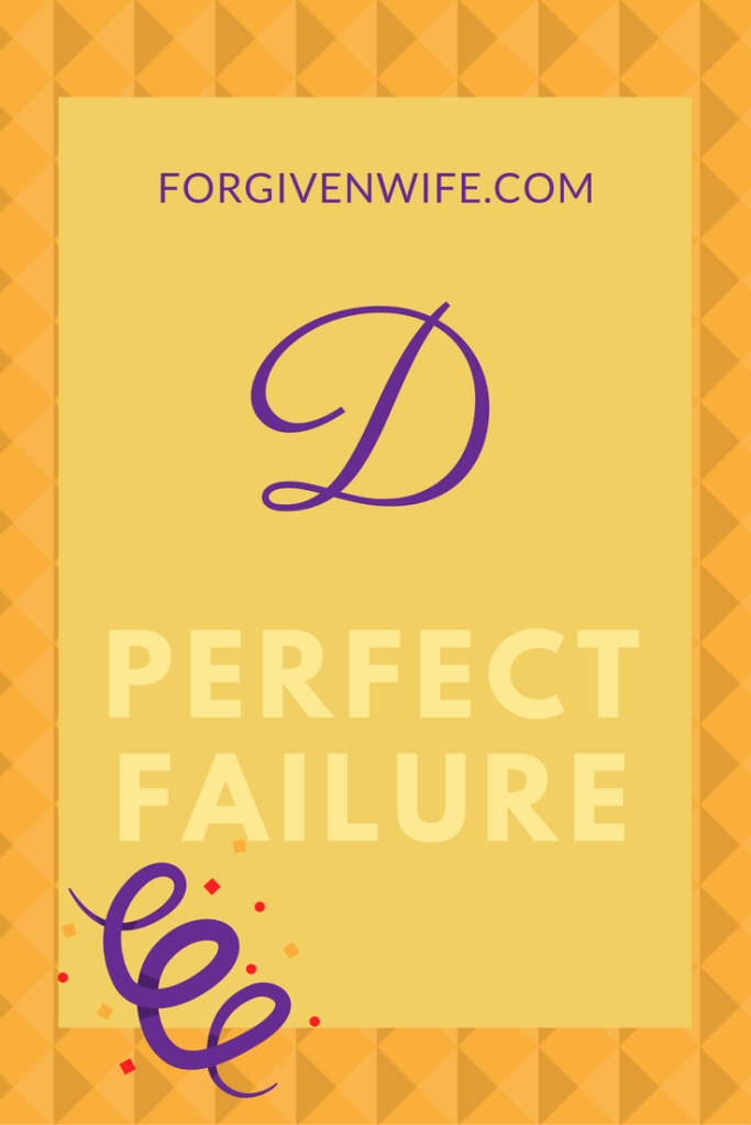 Is perfectionism failing you?