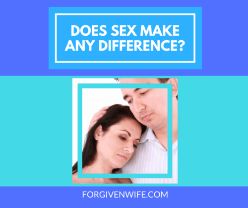 Sex doesn't fix everything, but it can make all the difference in the world.