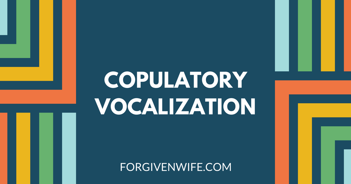 Vocalizations human male orgasms