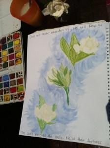 Gardenias, by anna
