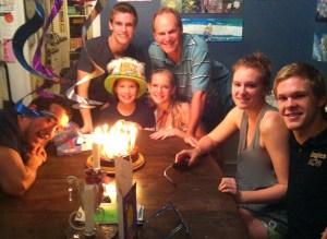 an Etheriedge birthday