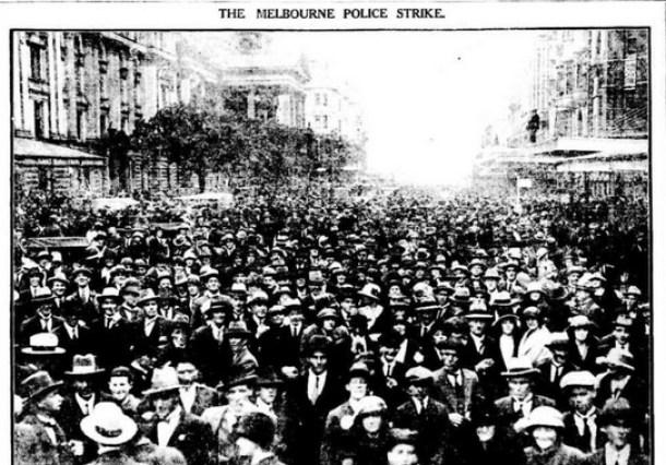 Melbourne's Streets Were Jammed