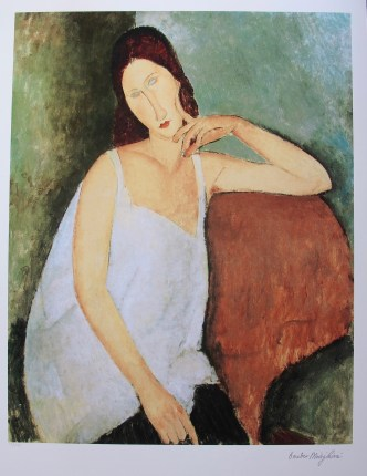 Mouse over image to zoom Amedeo-Modigliani-PORTRAIT-OF-JEANNE-HEBUTERNE-Facsimile-Signed-Small-Giclee-Art Amedeo-Modigliani-PORTRAIT-OF-JEANNE-HEBUTERNE-Facsimile-Signed-Small-Giclee-Art Have one to sell? Sell now Details about Amedeo Modigliani PORTRAIT OF JEANNE HEBUTERNE